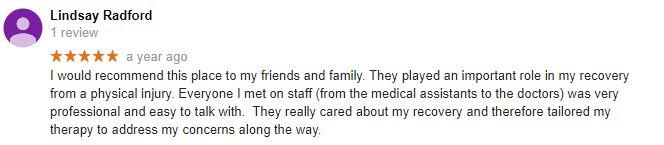 Wellness Vida Center Patient Testimonial
