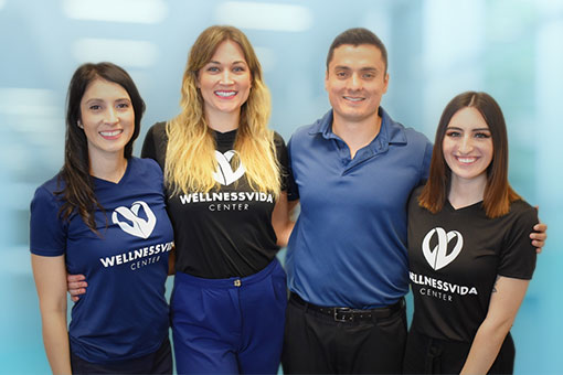 Chiropractor Dallas TX Dr Giovanni Quiroz and Staff