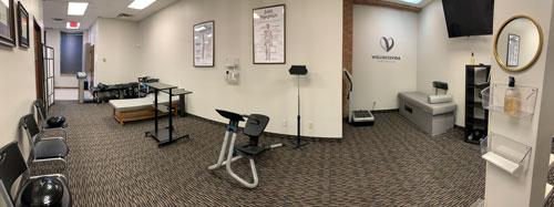 Chiropractic Dallas TX Rehab Area at Wellness Vida Center