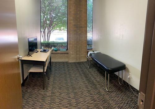 Chiropractic Dallas TX Treatment Area at Wellness Vida Center