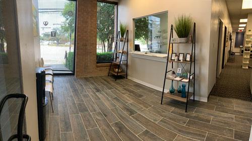 Chiropractic Dallas TX Waiting Area at Wellness Vida Center