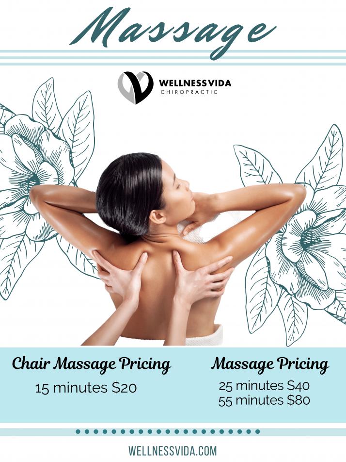 Massage Therapy Pricing in Dallas TX