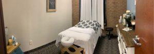 Massage Therapy Room in Dallas Texas